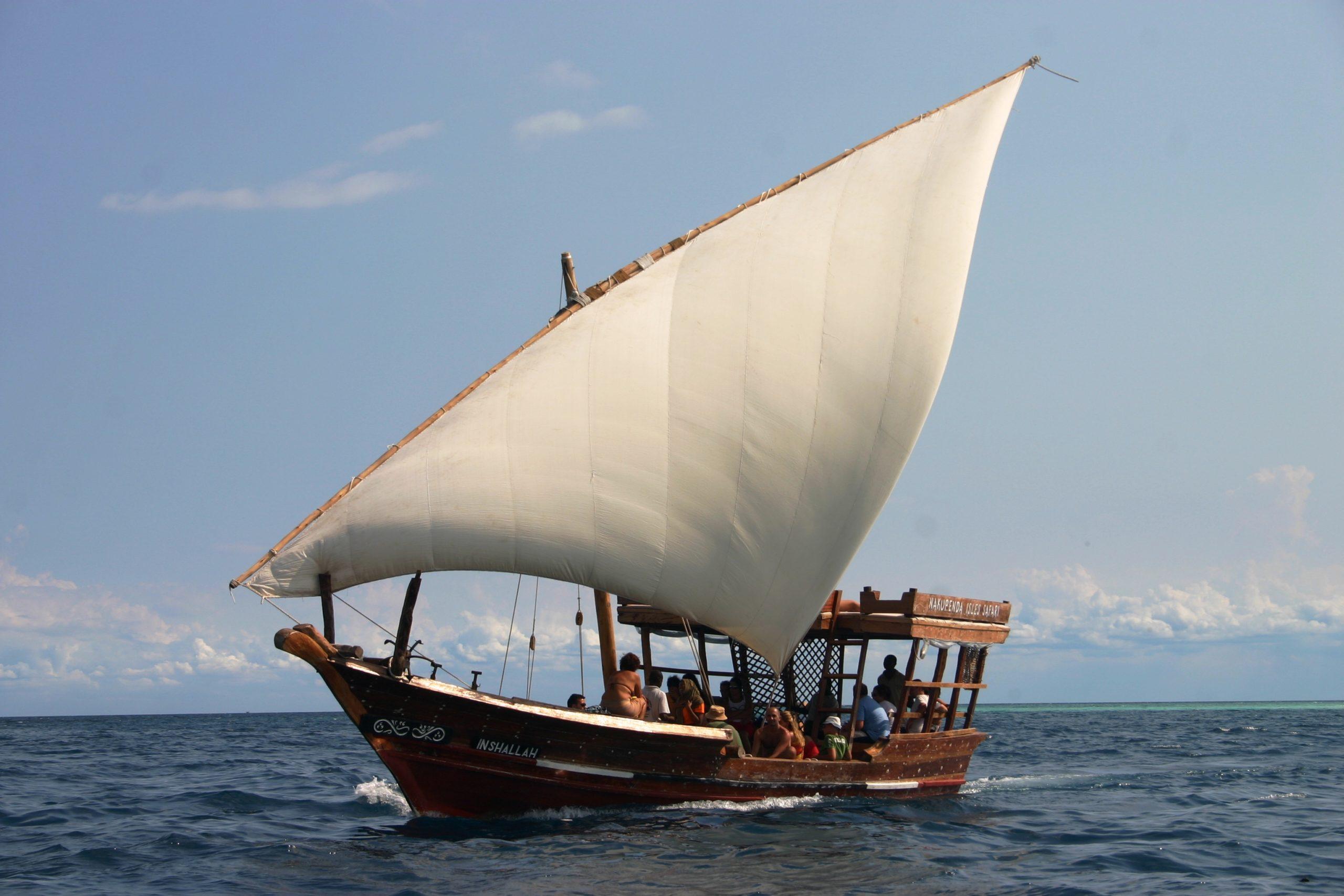 Nakupenda: aperitivo in barca di fronte a Stone Town